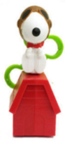 SNOOPY As The Flying Ace Peanuts McDonald's Happy Meal Toy #1 NEW - $4.99