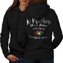Mother Flower Sweatshirt Hoody Family Women Hoodie Back - $21.99+