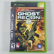 Tom Clancys Ghost Recon 2 Xbox Video Game With Manual Rated T - $1,198.00