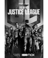 Zack Snyder's Justice League Poster 2021 Batman Superman DC Comics Film ... - $10.90+