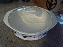 Mikasa covered rd vegetable bowl (Charizma Black) 1 available - $24.30