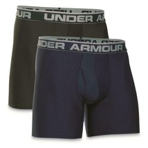 "UNDER ARMOUR UA Original Boxerjock 6"" Inseam Boxer Brief 2-Pack Men's sz... - $38.49"