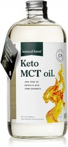 Natural Force Keto MCT Oil, Pure C8 (Caprylic Acid) in Glass Bottle, 32o... - $185.01