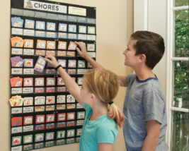 NEATLINGS Chore Chart System | Customize Reward Chart | Up to 6 Kids | 8... - $118.95