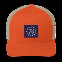 Betsy Ross hat / betsy Ross Trucker Cap image 6