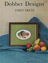 Dobber Designs FIRST FRUIT Fine Art Series # 18 for Needlepoint Vintage ... - $4.99
