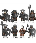 8pcs/set Uruk-hai army - Battle of Helm's Deep The Lord Of The Rings Min... - $16.99