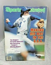 Sports Illustrated July 8 1985 Fernando Valenzuela Los Angeles Dodgers - $7.91