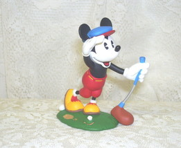 Hallmark Ornament Mickey Mouse Golf Figure 1997 Disney - $14.30