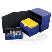 1x BCW GAMING COMMANDER DECK LOCKER - LX - BLUE - $18.00