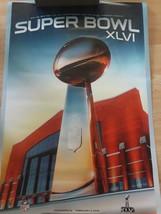 Superbowler XLVI Poster Football Vince Lombardi Trophy 2012 Man Cave Bar... - $9.85