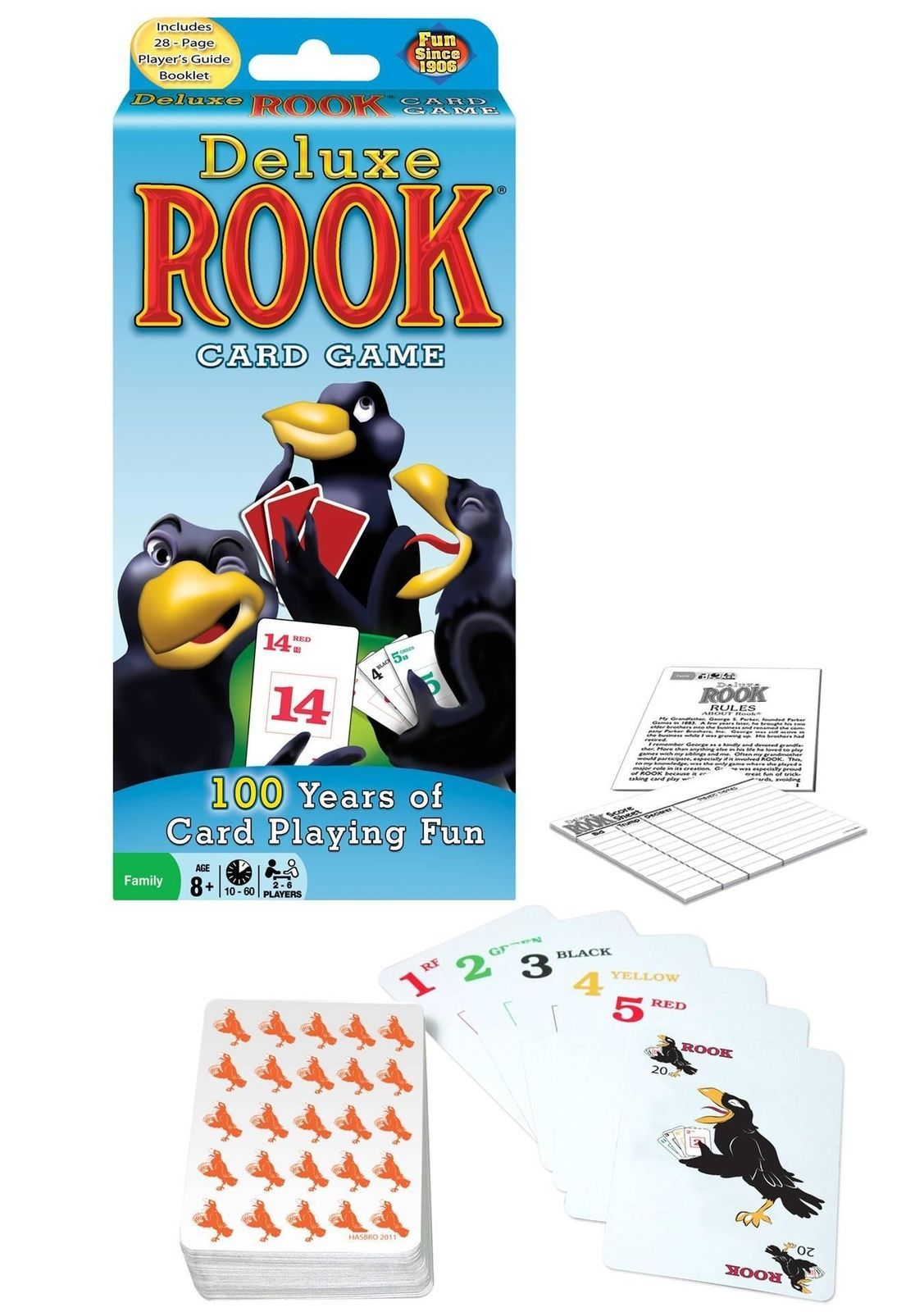 Winning Moves Games Deluxe Rook Card Game [New]