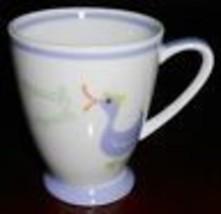 Spring 2007 Starbucks Coffee QUACK QUACK 7 oz Handled Mug DUCK GRAPHICS - $14.84