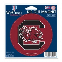 NCAA South Carolina Gamecocks 4 Inch Auto Magnet By WinCraft - $10.95