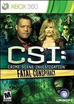 CSI: Fatal Conspiracy - Xbox 360 [Xbox 360] - $16.82