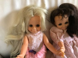 Vintage Ideal 1970 Mia And Velvet dolls With Ballet Shoes - $99.99
