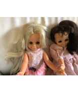 Vintage Ideal 1970 Mia And Velvet dolls With Ballet Shoes - $55.99