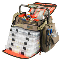 Wild River FRONTIER Lighted Bar Handle Tackle Bag w/5 PT3700 Trays [WT3702] - $226.17