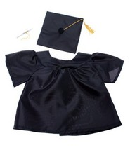 """Graduation Gown w/Hat and Scroll Outfit Teddy Bear Clothes Fit 14"""" - 18""""... - $11.87"""