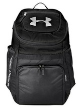 NEW Under Armour UA Team Undeniable Backpack, Black/Silver - $51.41