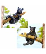 Up a Tree Hanging Black Bear Cub Statues - $108.64