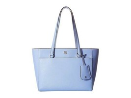 Tory Burch Robinson Small Tote Bow Blue - $295.02