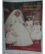 "Paradise Crochet 11 1/2"" Doll Costume Pattern PRINCESS DIANA & HER BRIDE... - $33.66"