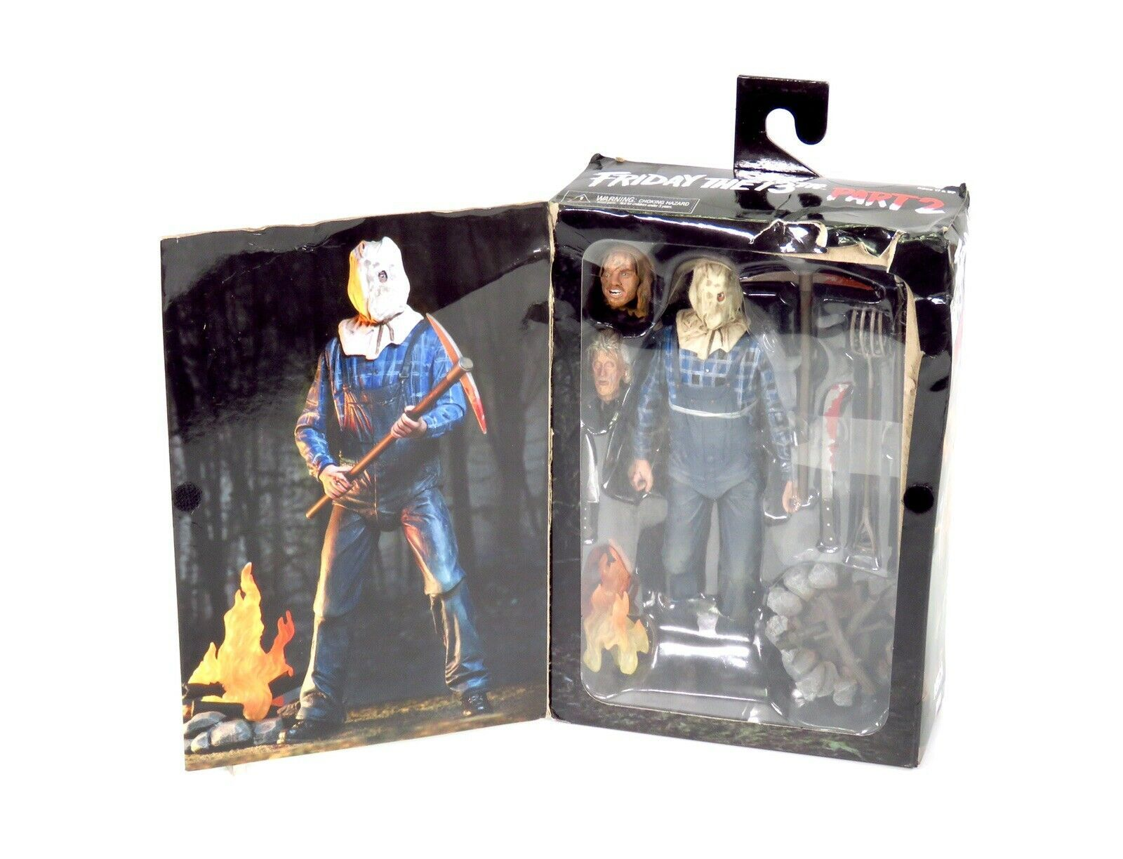 "NECA Friday The 13TH Part 2 Ultimate Jason Figure 7"" Horror Movie Figure - $33.71"