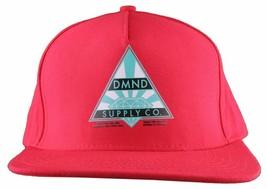 Diamond Supply Co. Eterno Diamante Rojo Ajustable Gorra Béisbol Nwt