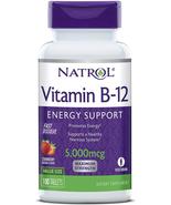 Natrol Vitamin B12 Fast Dissolve Tablets,5,000mcg, Strawberry, 100 Count - $12.22