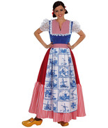 Eurovision - Delft DUTCH Ladies Costume  XS-XXL - $52.51