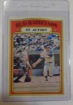 1972 Topps #54 Bud Harrelson In Action New York Mets Baseball Card - EX/NM - $1.88