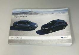 2014 Subaru Legacy/Outback Owners Manual Handbook OEM Z0A598 - $38.39