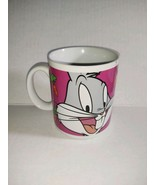 Looney Tunes Gibson Bugs Bunny Collectible Coffee Tea Mug Cup 1998 Purpl... - $22.76