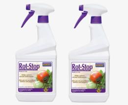2~Bonide ROT-STOP Liquid Plant Food 16 oz. Tomatoes Cucumbers Melons Pep... - $29.99