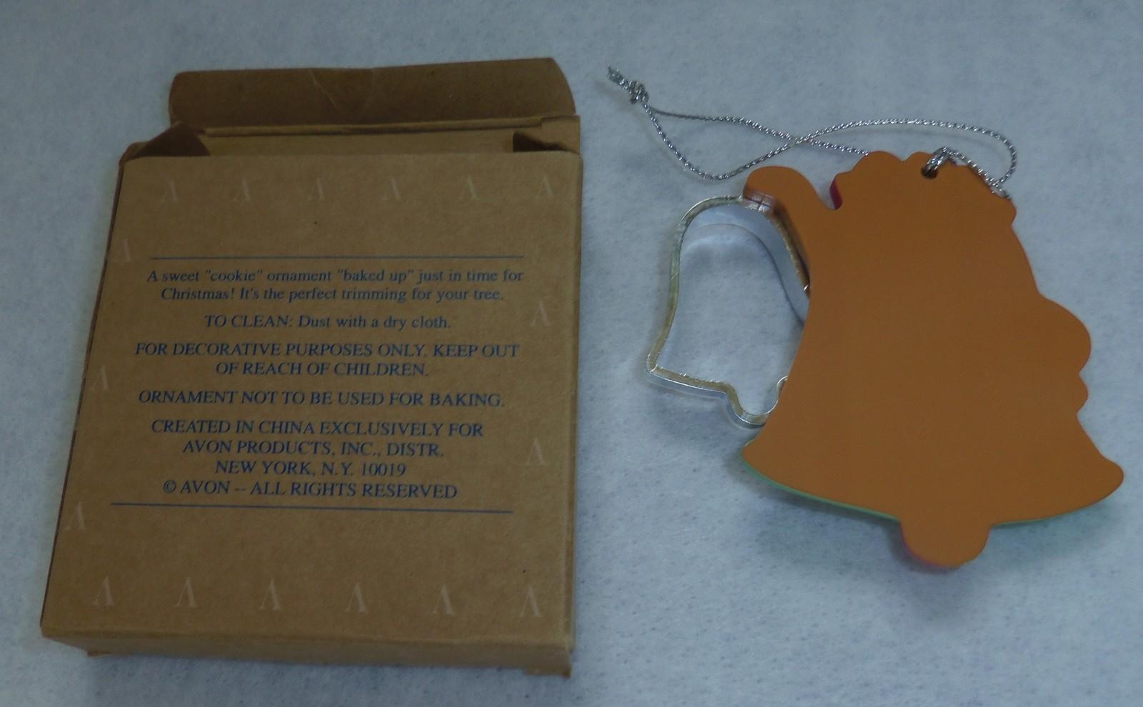 Avon Cookie Cutter Cuties Bell Ornament