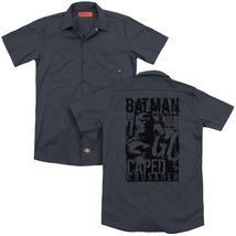 Batman - Caped Crusader (Back Print) Adult Work Shirt - $44.99+