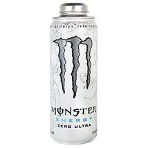 Monster Energy 24 ounce cans with Resealable Lids (Zero Ultra, 6 Cans) - $32.66