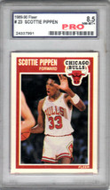 Scottie Pippen 1989-90 Fleer Card #23 Graded 8.5 NM-MT PRO - $9.85
