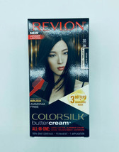 Revlon 30/20N Brown Black Colorsilk Buttercream Permanent Hair Color Dye - $14.99