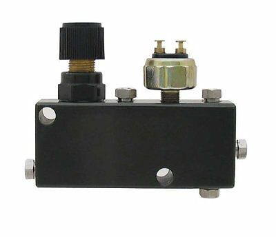 PVC-B-Adjustable Proportioning Valve + Distribution Block