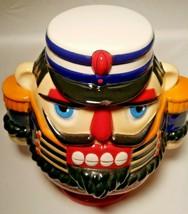 Bombay Company  NUTCRACKER Christmas Cookie Jar 2001 - $26.17