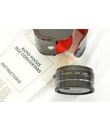 Kalimar 1.4 X M/AF Tele Converter Auto Focus camera lens w/ case & instr... - $49.49