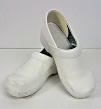 Dansko Professional Womens White Leather Shoes Sz 40 Us 9.5 -10 - $29.99