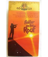 Fiddler on the Roof VCR VHS Tape Box Set of 2 Complete Set in Case - $9.46