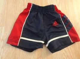 Infant/Baby Adidas 6 Mo Shorts (Navy Blue & Red) - $4.99