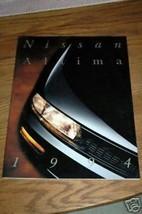 1994 Nissan Altima Brochure - $2.00