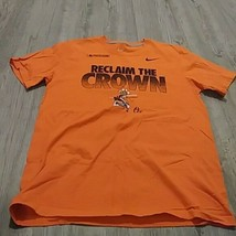 "Nike BALTIMORE ORIOLES ""Reclaim the Crown"" POSTSEASON (LG) T-Shirt - $7.92"