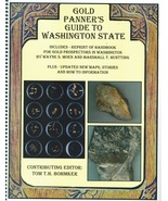 Gold Panner's Guide to Washington State ~ Gold Prospecting - $21.95