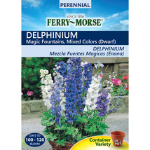 Ferry-Morse 100-Milligrams Larkspur Seeds (L0000) - $18.76